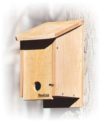 Woodlink House - Winter Roosting - Bluebird - Tree Swallow