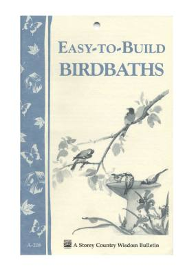Easy To Build Bird Baths