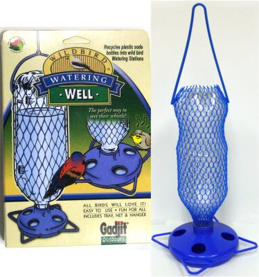 Soda Bottle Watering Well