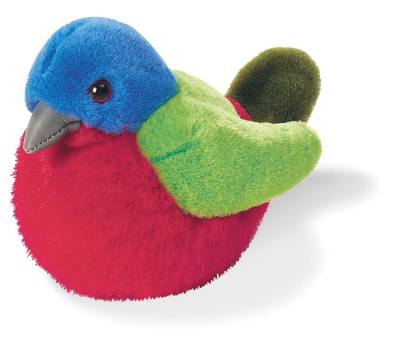 Painted Bunting Plush Bird