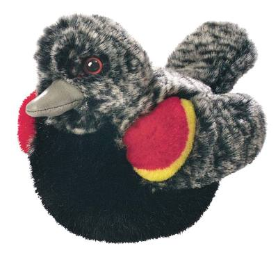 Red-winged Blackbird Plush Bird