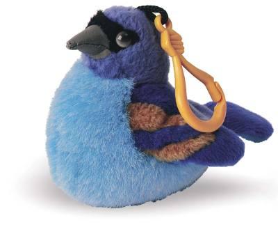 Audubon Birds Mini Clip Blue Grosbeak
