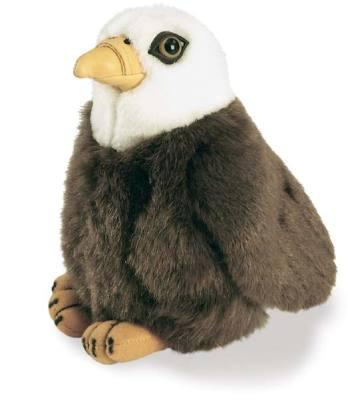 Bald Eagle Plush Bird