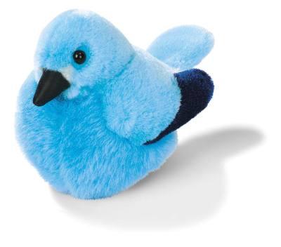 Mountain Bluebird Plush Bird