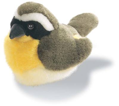 Common Yellowthroat Plush Bird