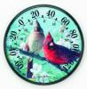 James Hautman 12 1/2 in. Indoor/Outdoor Cardinals Thermometer