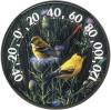 Audubon Collections Indoor/Outdoor Goldfinches II Thermometer