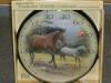 Decorative Horse & Colt Thermometer