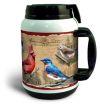 Thermal Mug 64 oz Feeder Bird Wild Bird Collage