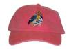 Feed the Birds Embroidered Cap-Red