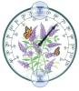 Butterfly Bush Window Thermometer