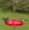 Hummzinger Fancy 12 oz. Red  Hummingbird Feeder