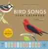 2009 Bird Songs Wall Calendar