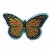 Small Orange Butterfly Door Screen Saver
