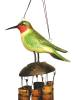 Ruby Throated Hummingbird Wind Chime