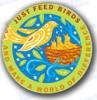 Just Feed Birds Lapel Pin