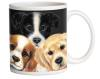 Peeping Puppies 15 oz Mug