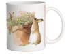 Springtime Bunny 15 oz Mug