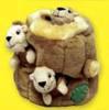 Squeakn' Animals Squirrel 3 Pack