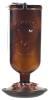 16 oz Elegant Antique Glass Bottle Hummingbird Feeder