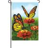Elegant Monarchs Garden Flag