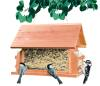 The Lodge Cedar Feeder W/ Suet Holders