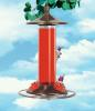 Glass & Metal Hummingbird Feeder - 12-oz. nectar capacity