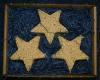 3 pk Ornament Stars