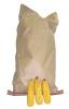 Squirrel Food , Ear Corn Cob  – 25# Bag