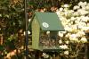 Recycled Tall Hopper Bird Feeder 4 Quart
