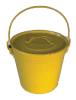 Yellow Seed Bucket, 8 Quart