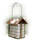Copper Top Double Suet Cage