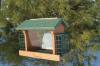 Going Green Recycled Plastic Ranch Feeder w/Suet Cages