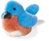 Eastern Bluebird Plush Bird